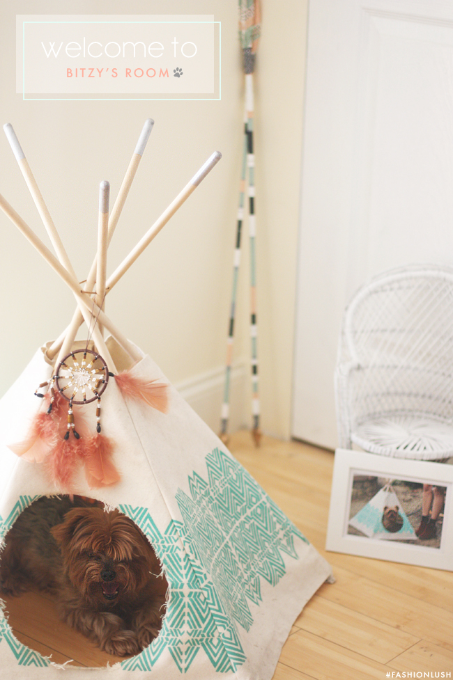 My studio apartment makeover for Diy cat teepee