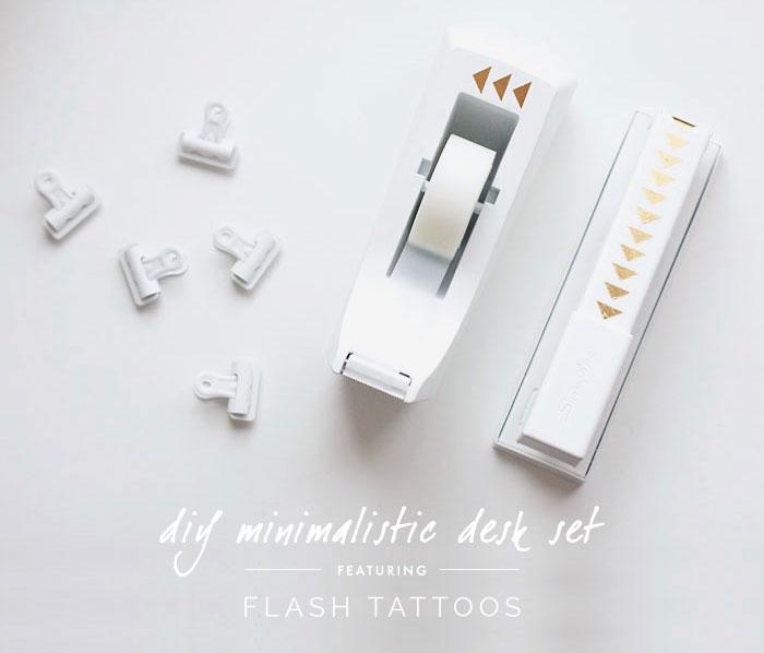 Diy Minimalistic Desk Accessories