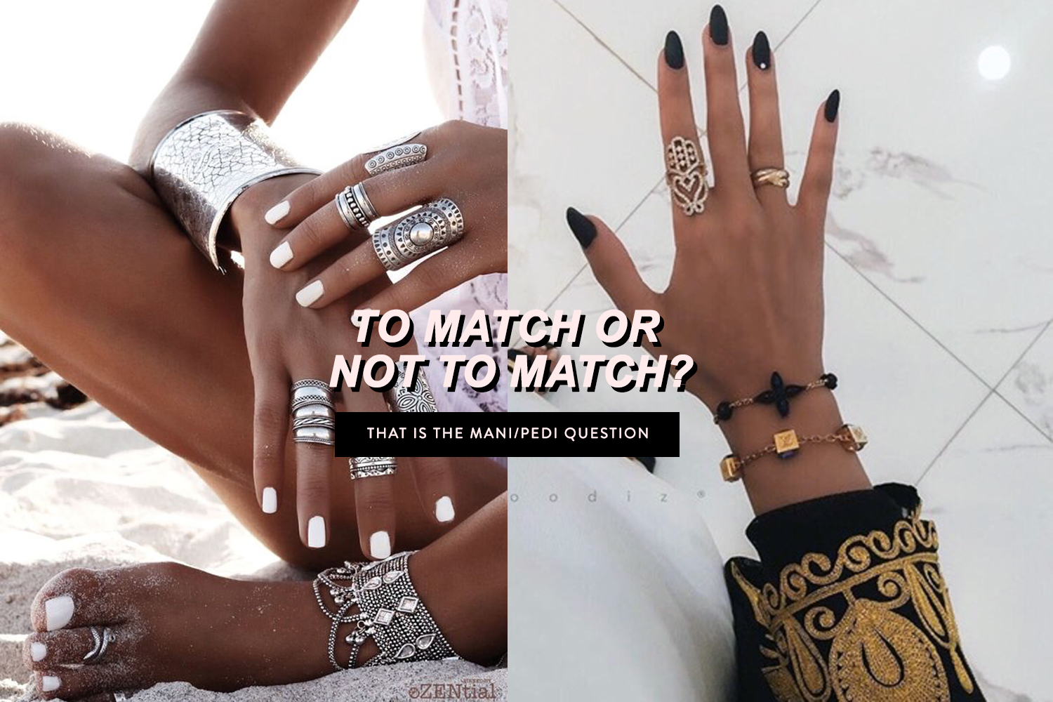 Beauty Do or Don\'t: Matching Your Nails to Your Toes?