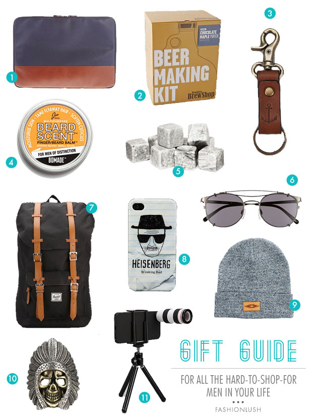 Gift Guide For All Of The Hard To Men In Your Life
