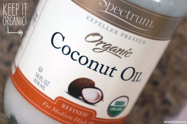 use organic coconut oil for oil pulling