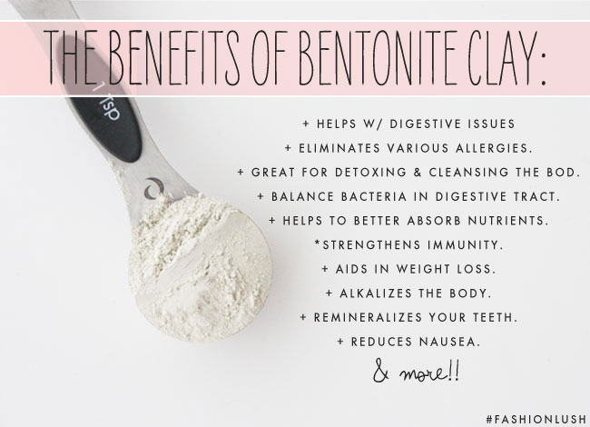 WTF is Bentonite Clay + Why I'm Chugging It