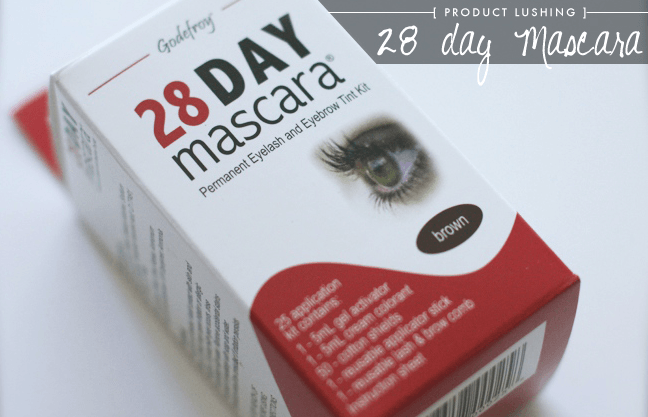 Godefroy 28 Day Mascara Product Review