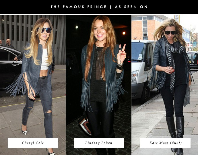ccf7744a3 Rich Girl / Poor Girl: The Exclusive Kate Moss for Topshop Fringe ...