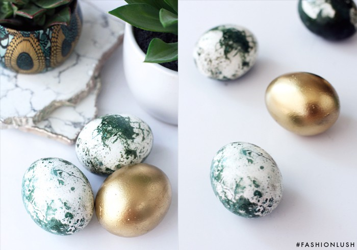 how to get food coloring out of marble