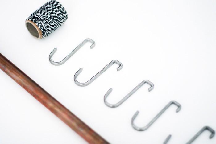 fashionlush, DIY Necklace Holder, minimalistic home decor