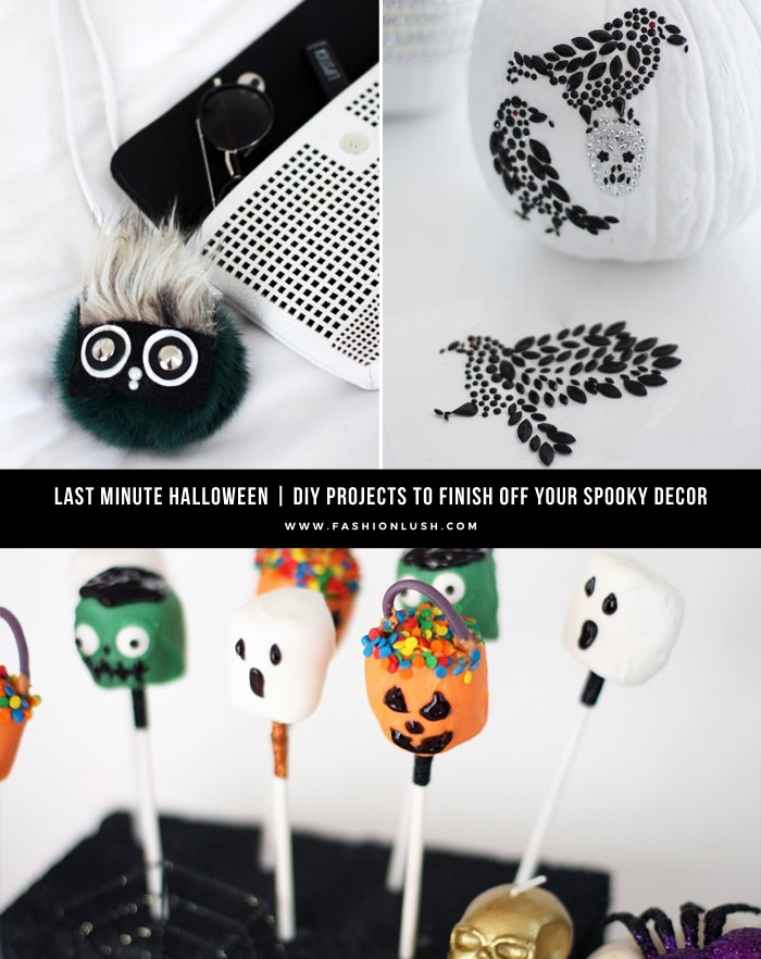 3 creepy chic halloween diy projects - Halloween Diy Projects