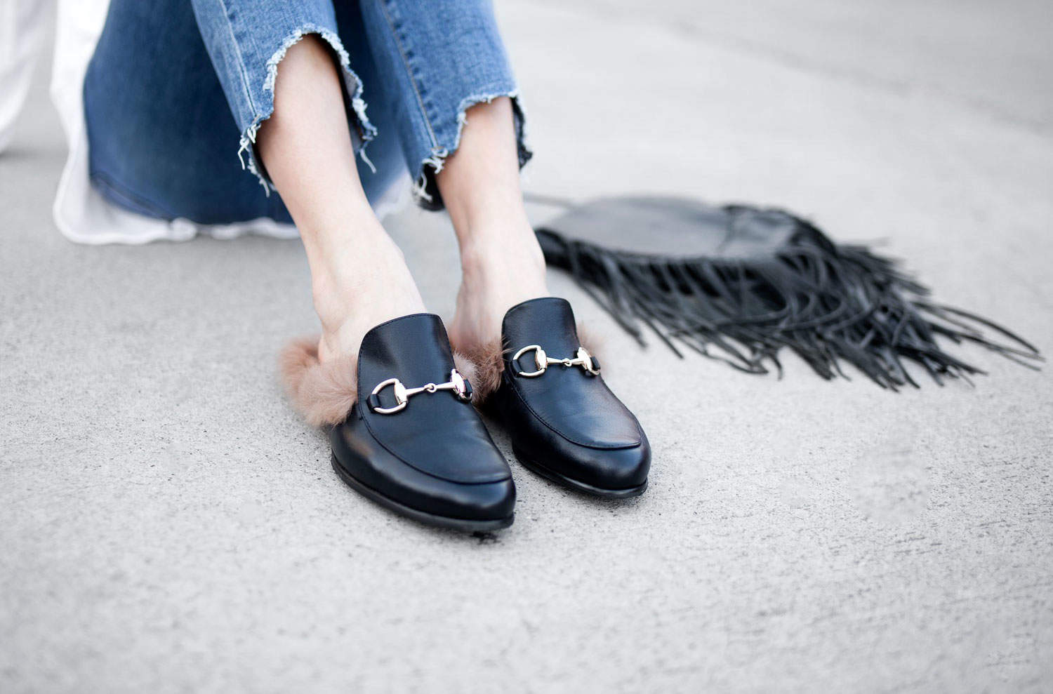 Same Same But Different Fur Loafers