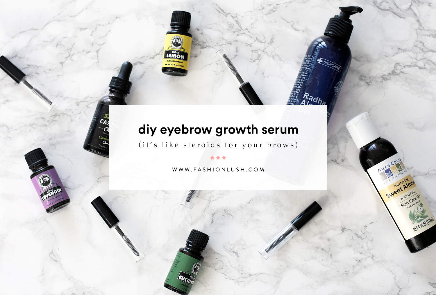 Power Brows Diy Growth Serum