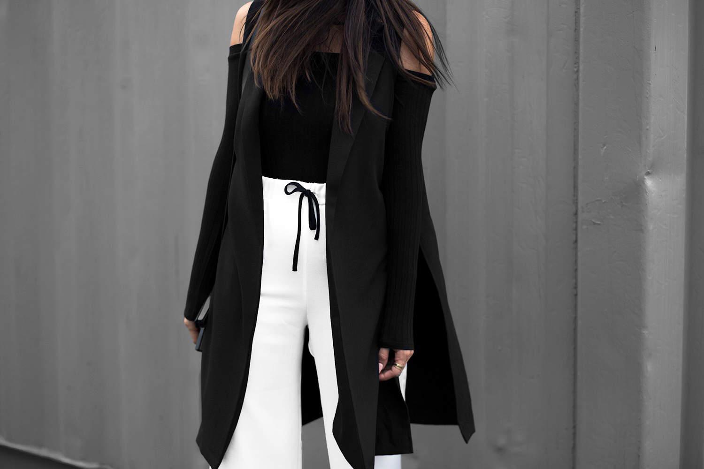 fashionlush, cold shoulder, minimal style