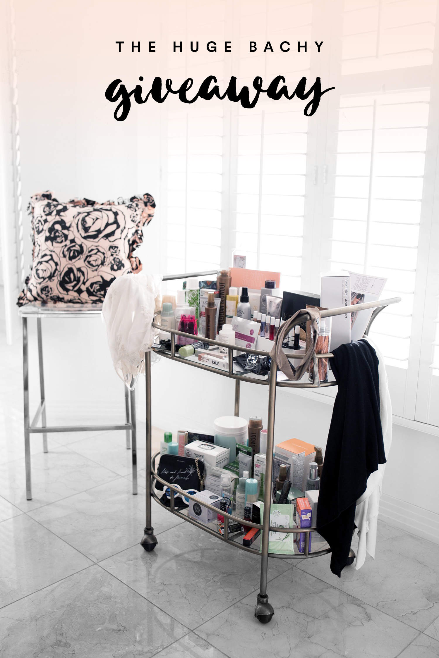 fashionlush, the skinny confidential, blogger giveaway