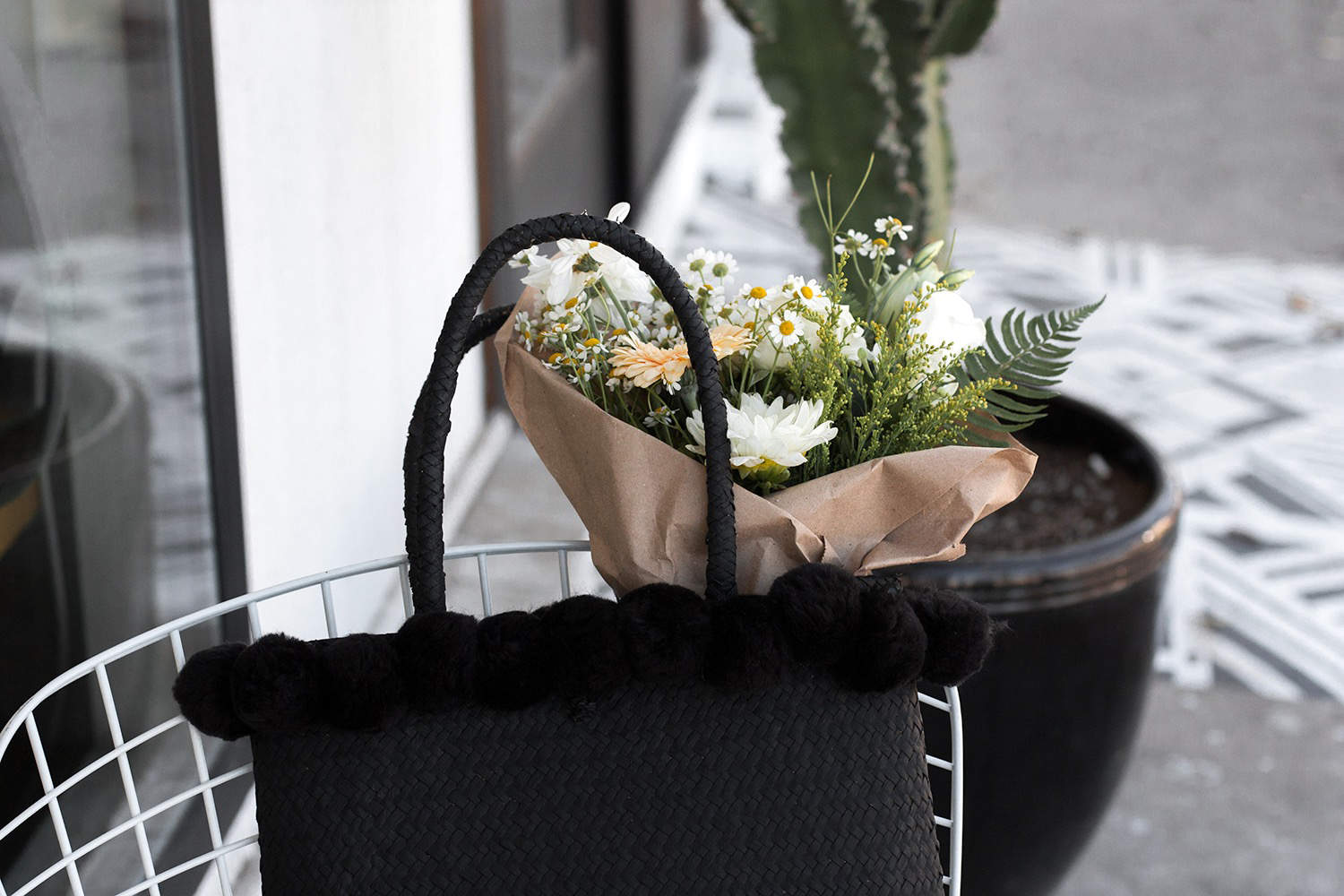 fashionlush, update your summer straw bag, do it yourself