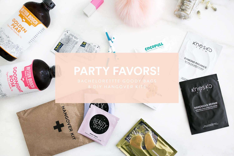 DIY Hangover kits, fashionlush, the skinny confidential, bachelorette goody bags