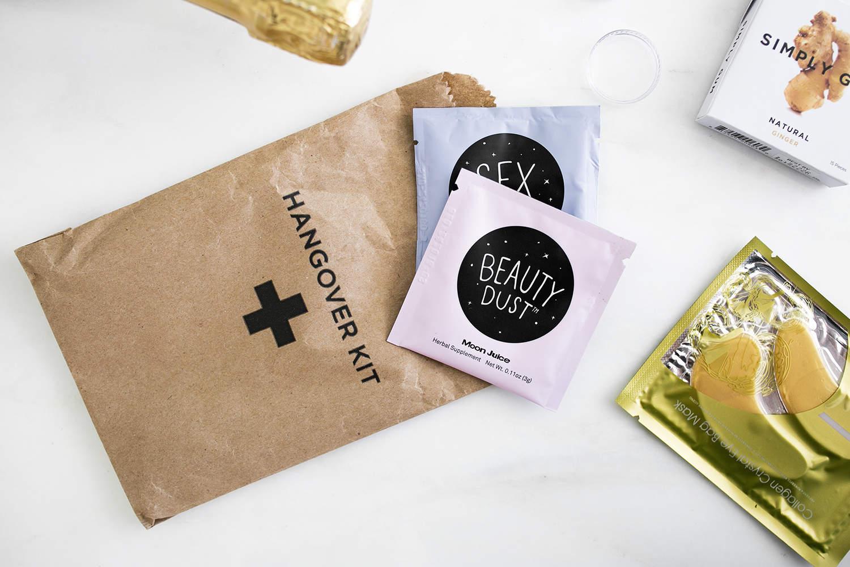 DIY Hangover Kit, fashionlush, the skinny confidential, bachelorette goody bags