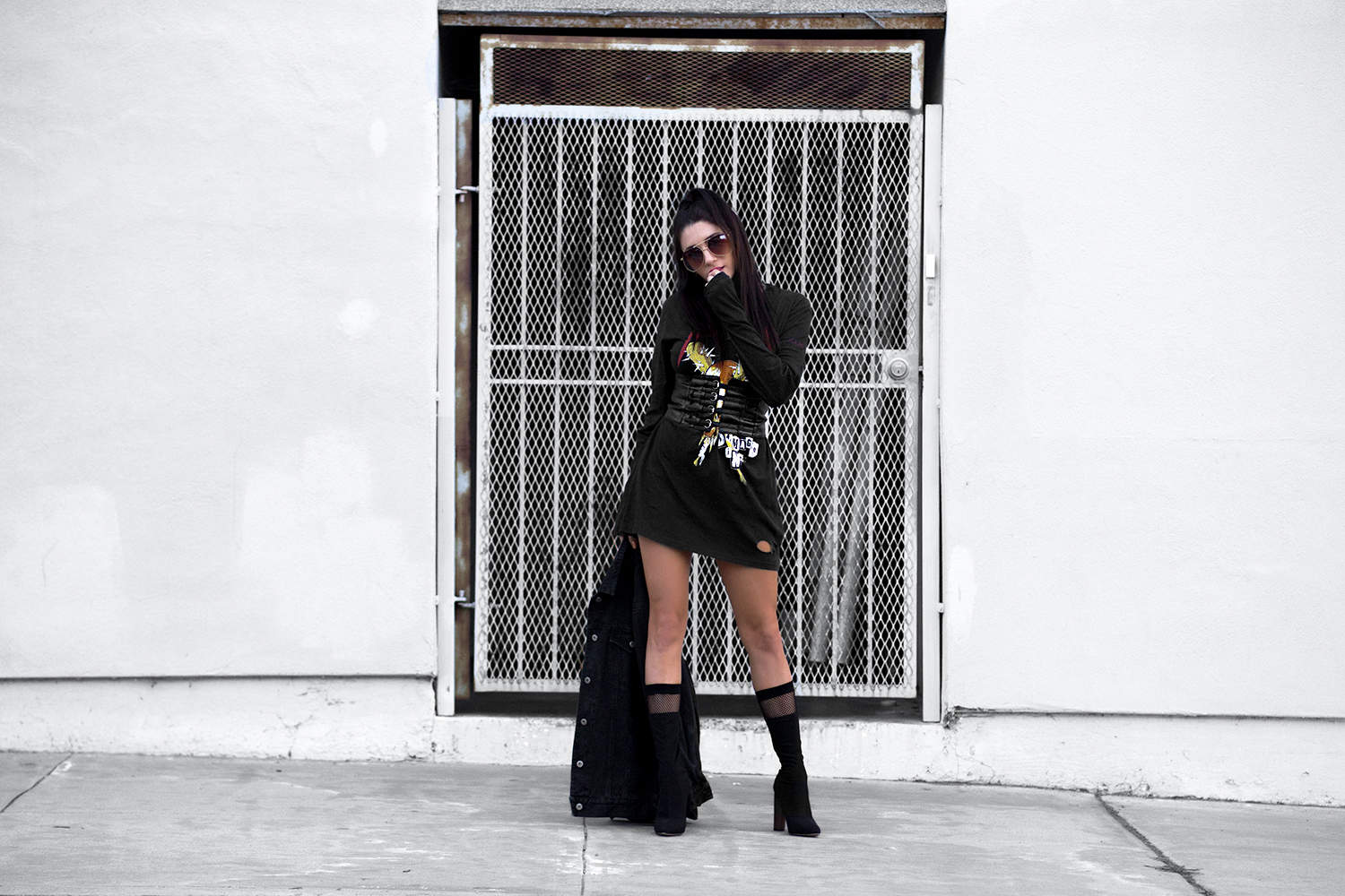 fashionlush, revival of the corset, corset belt, street style