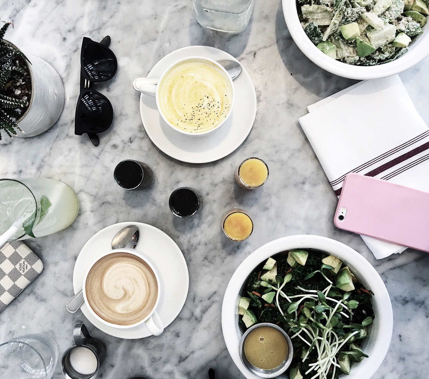fashionlush, cafe gratitude, insta worth eats in san diego