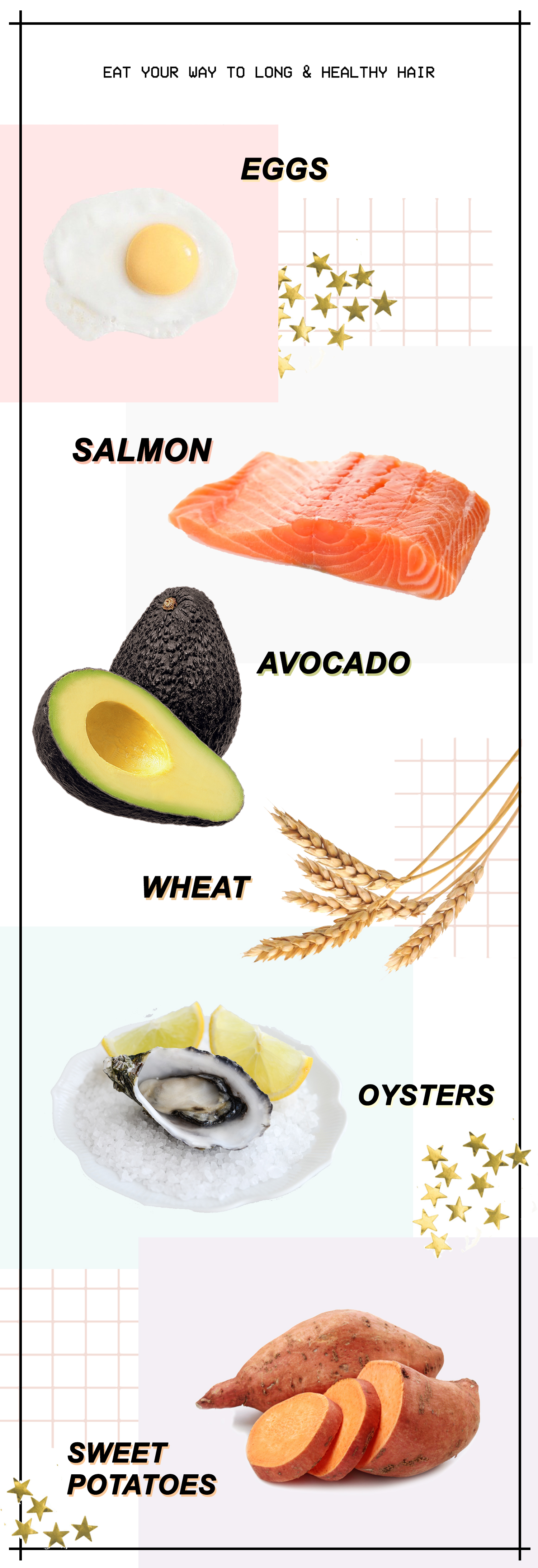 Food To Eat To Make Your Hair Grow Longer