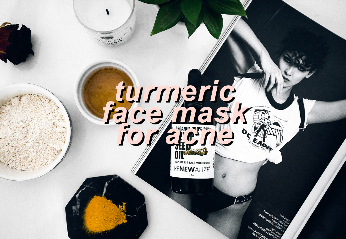 fashionlush diy face mask for acne