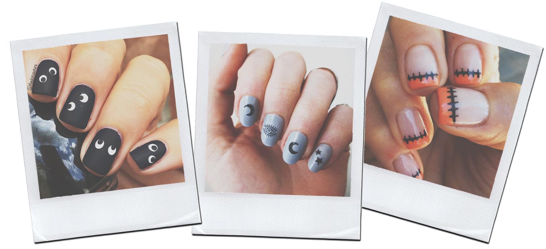 fashionlush, diy halloween nail art