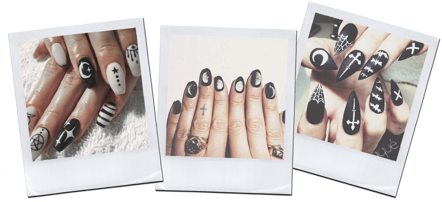 fashionlush witchy inspired nail art
