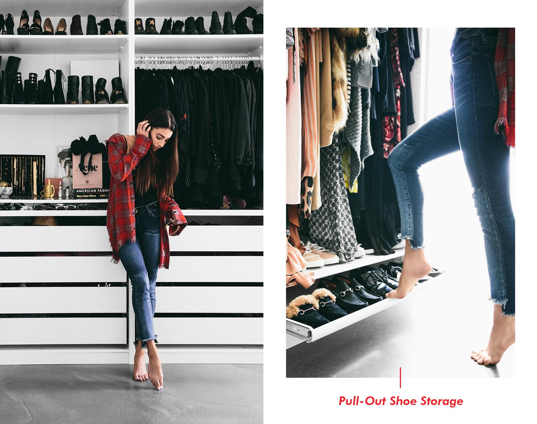 ikea pax wardrobe minimal closet, fashionlush