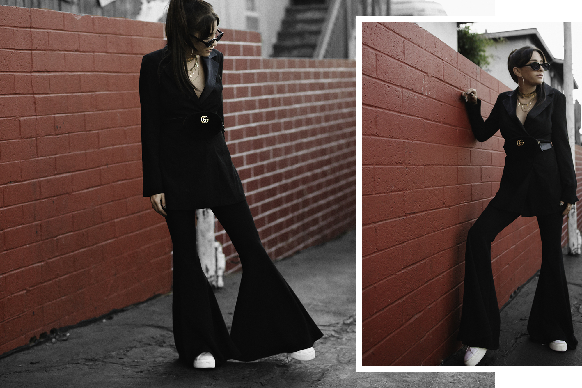 fashionlush, all black outfits style blogger