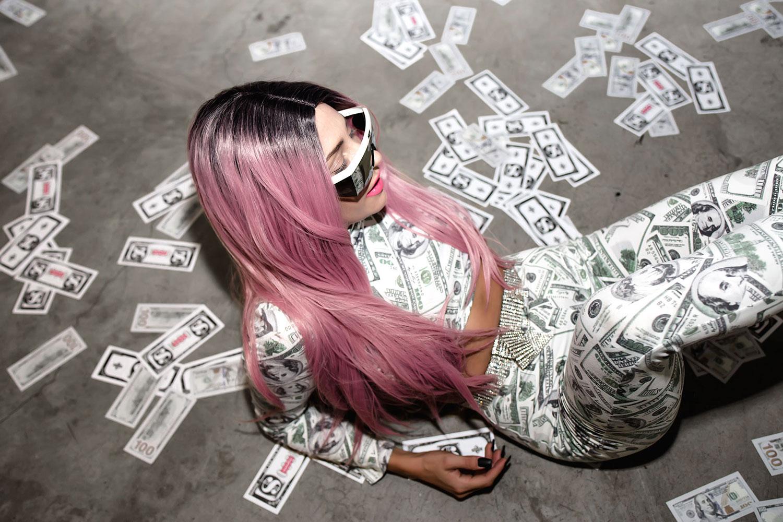 fashionlush, cardi b, bodak yellow, money moves, halloween costume