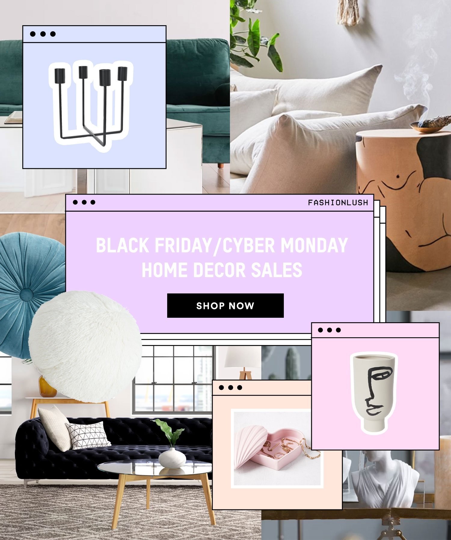 The 5 Home Decor Black Friday/Cyber Monday Sales I'm Shopping