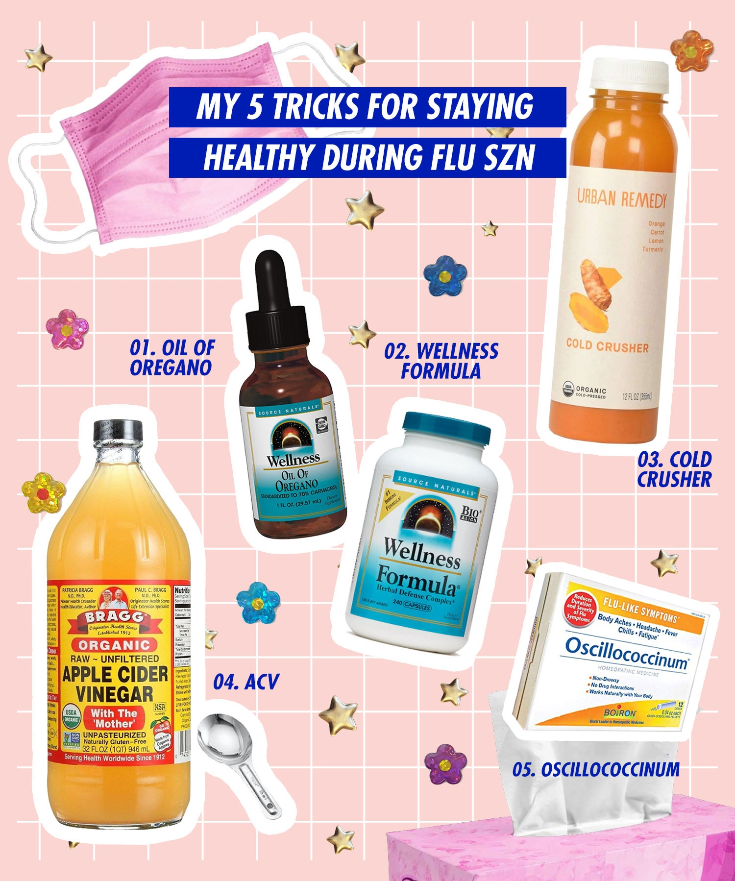 what to drink to not get flu