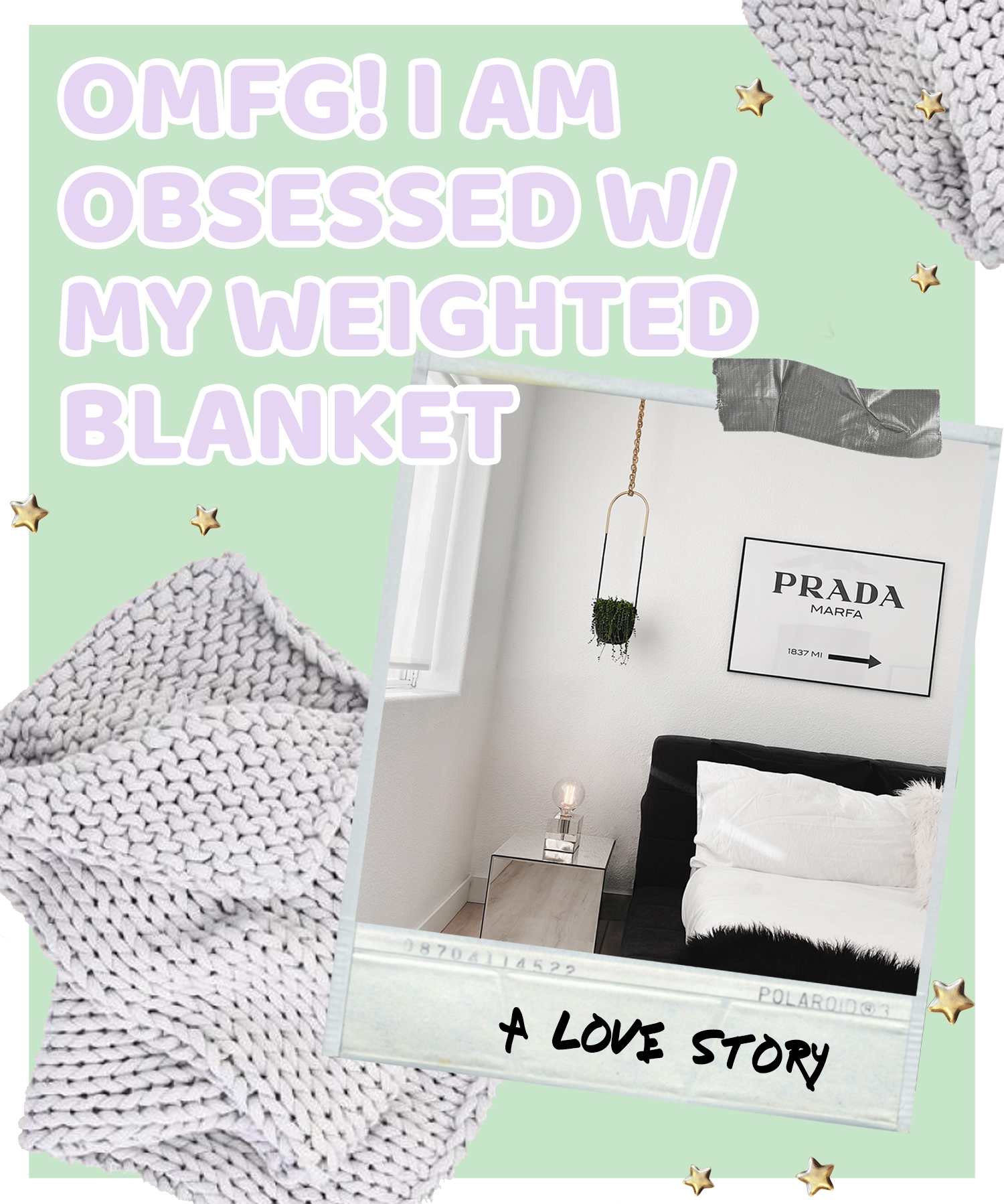 fashionlush, sleep, weighted blanket